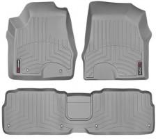 Коврики в салон для Lexus RX '09-15 серые, резиновые 3D (WeatherTech)