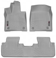 Коврики в салон для Lexus RX '16- серые, резиновые 3D (WeatherTech)