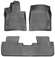 Коврики в салон для Lexus RX '16- черные, резиновые 3D (WeatherTech)