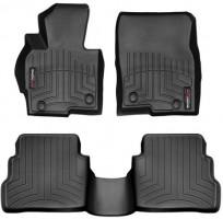 Фото 1 - Коврики в салон для Mazda CX-5 '12-17 черные, резиновые 3D (WeatherTech)