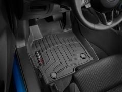 Фото 2 - Коврики в салон для Mazda CX-5 '12-17 черные, резиновые 3D (WeatherTech)