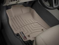 Фото 2 - Коврики в салон для Subaru Legacy '10- бежевые, резиновые 3D (WeatherTech)