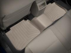 Фото 3 - Коврики в салон для Subaru Legacy '10- бежевые, резиновые 3D (WeatherTech)
