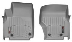 Фото 2 - Коврики в салон для Volkswagen Amarok '10- серые, резиновые 3D (WeatherTech)