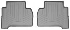 Фото 3 - Коврики в салон для Volkswagen Amarok '10- серые, резиновые 3D (WeatherTech)