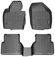 Фото 1 - Коврики в салон для Volkswagen Tiguan '16- черные, резиновые 3D (WeatherTech)