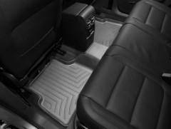 Фото 3 - Коврики в салон для Volkswagen Tiguan '16- черные, резиновые 3D (WeatherTech)