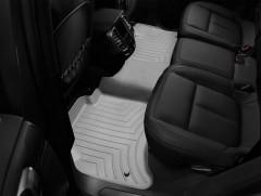 Фото 3 - Коврики в салон для Volkswagen Touareg '10- (2-х зонный климат) серые, резиновые 3D (WeatherTech)