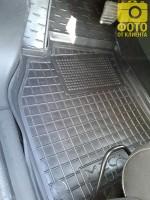 Фото 6 - Коврики в салон для Renault Megane '08-16, универсал резиновые, черные (AVTO-Gumm)