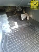 Фото 7 - Коврики в салон для Renault Megane '08-16, универсал резиновые, черные (AVTO-Gumm)