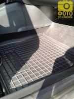 Фото 8 - Коврики в салон для Renault Megane '08-16, универсал резиновые, черные (AVTO-Gumm)