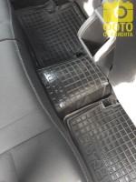 Фото 11 - Коврики в салон для Renault Megane '08-16, универсал резиновые, черные (AVTO-Gumm)