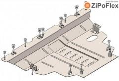 Защита двигателя и КПП для Jeep Renegade '16-, V-2,0D; 2,4і, АКПП 4х4 (Кольчуга) Zipoflex