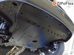 Защита двигателя и КПП, радиатора для Kia Rio '15-, V-1,4і (Кольчуга) Zipoflex