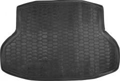 Коврик в багажник для Honda Civic 4D '17-, резиновый (AVTO-Gumm)