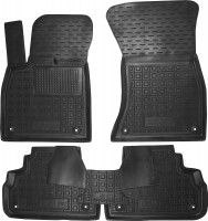 Коврики в салон для Audi Q5 '17- резиновые, черные (AVTO-Gumm)