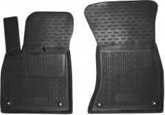 Коврики в салон передние для Audi Q5 '17- резиновые, черные (AVTO-Gumm)