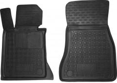 Коврики в салон передние для BMW 5 G30 '17- резиновые, черные (AVTO-Gumm)