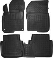 Коврики в салон для Honda CR-V '17- резиновые, черные (AVTO-Gumm)