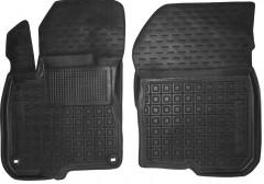 Коврики в салон передние для Honda CR-V '17- резиновые, черные (AVTO-Gumm)