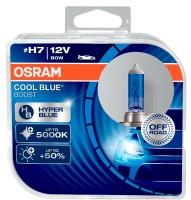 Автомобильные лампочки Osram Cool Blue Boost H7 80W 12V (Комплект: 2шт.)
