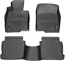 Коврики в салон для Mazda 6 '13-, черные, резиновые 3D (WeatherTech)