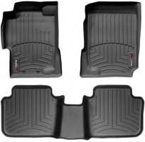 Коврики в салон для Honda Accord 7 '03-08, USA, черные, резиновые 3D (WeatherTech)
