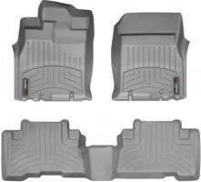 Коврики в салон для Toyota FJ Cruiser '06-, серые, резиновые 3D (WeatherTech)