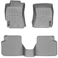 Коврики в салон для Subaru Forester '08-12, серые, резиновые 3D (WeatherTech)