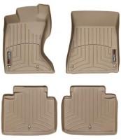 Коврики в салон для Lexus GS '05-12, AWD, бежевые, резиновые 3D (WeatherTech)