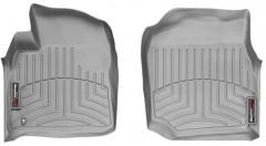 Коврики в салон для Toyota Land Cruiser 100 '98-07, серые, резиновые 3D (WeatherTech)