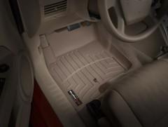 Коврики в салон для Jeep Patriot '07-, бежевые, резиновые 3D (WeatherTech)