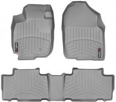 Коврики в салон для Toyota RAV4 2006-2012, EUR, серые, резиновые 3D (WeatherTech)