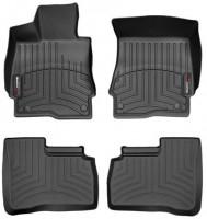 Коврики в салон для Mercedes S-Class W221 '06-13, черные, резиновые 3D (WeatherTech)