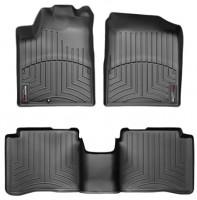Коврики в салон для Nissan Teana '03-08, черные, резиновые 3D (WeatherTech)