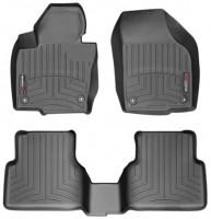 Коврики в салон для Volkswagen Tiguan '07-16, черные, резиновые 3D (WeatherTech)