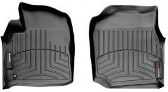 Коврики в салон для Lexus LX 470 '00-07, черные, резиновые 3D (WeatherTech)