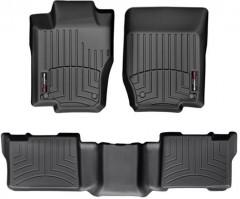 Коврики в салон для Mercedes ML-Class W164 '05-11, черные, резиновые 3D (WeatherTech)