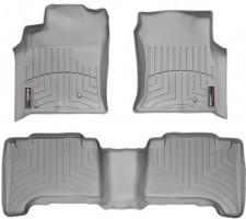 Коврики в салон для Lexus GX 470 '02-09, серые, резиновые 3D (WeatherTech)