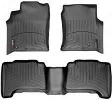 Коврики в салон для Lexus GX 470 '02-09, черные, резиновые 3D (WeatherTech)