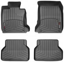 Коврики в салон для BMW 5 E60 '03-10, черные, резиновые 3D (WeatherTech)