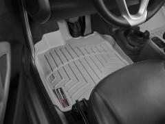 Коврики в салон для Mercedes Smart Fortwo '08-14, серые, резиновые 3D (WeatherTech)