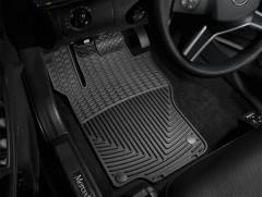 Коврики в салон для Mercedes GL-Class X164 '06-11, черные, резиновые (WeatherTech)