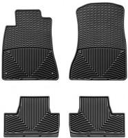 Коврики в салон для Lexus IS 250 '05-13, 2WD, черные, резиновые (WeatherTech)
