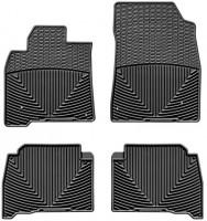 Коврики в салон для Toyota Land Cruiser 200 '07-, черные, резиновые (WeatherTech)