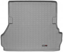 Коврик в багажник для Toyota Land Cruiser 100 '98-07, 5 мест, серый, резиновый (WeatherTech)