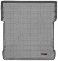 Коврик в багажник для Toyota Land Cruiser 100 '98-07, 7 мест, серый, резиновый (WeatherTech)