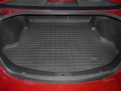 Коврик в багажник для Mazda 6 '08-12 седан, черный, резиновый (WeatherTech)