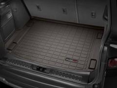 Коврик в багажник для Land Rover Range Rover Evoque '11-, коричневый, резиновый (WeatherTech)
