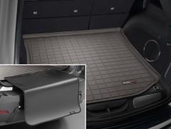Коврик в багажник для Jeep Grand Cherokee '11-, коричневый, с накидкой, резиновый (WeatherTech)